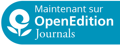Maintenant sur OpenEdition Journals